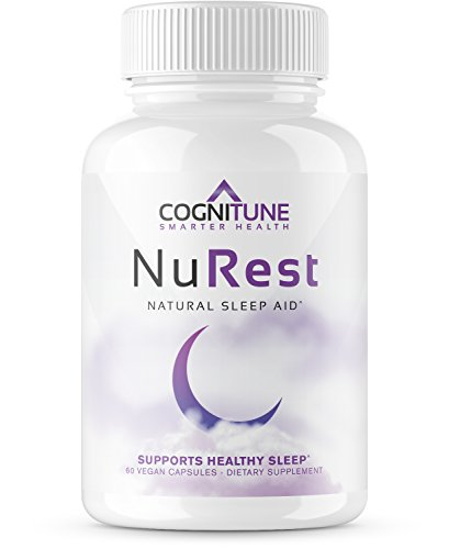 NuRest - Premium Natural Sleep Aid Supplement - #1 Non Habit Forming Sleeping Pills for PM Insomnia Relief - Herbal Nighttime Formula with Melatonin, Valerian Root, Lemon Balm, Chamomile, (Best Rest Supplements)