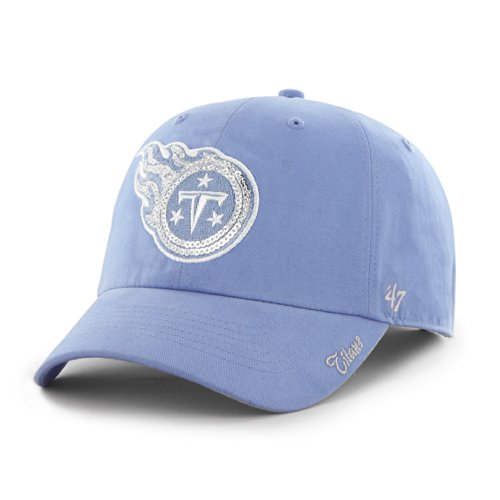 (NFL Tennessee Titans Women's Sparkle Team Color, Periwinkle)