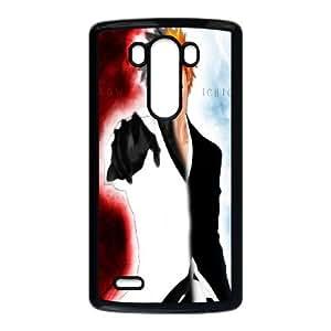 LG G3 Cell Phone Case Black Bleach Ichigo 3 F1B3NJ