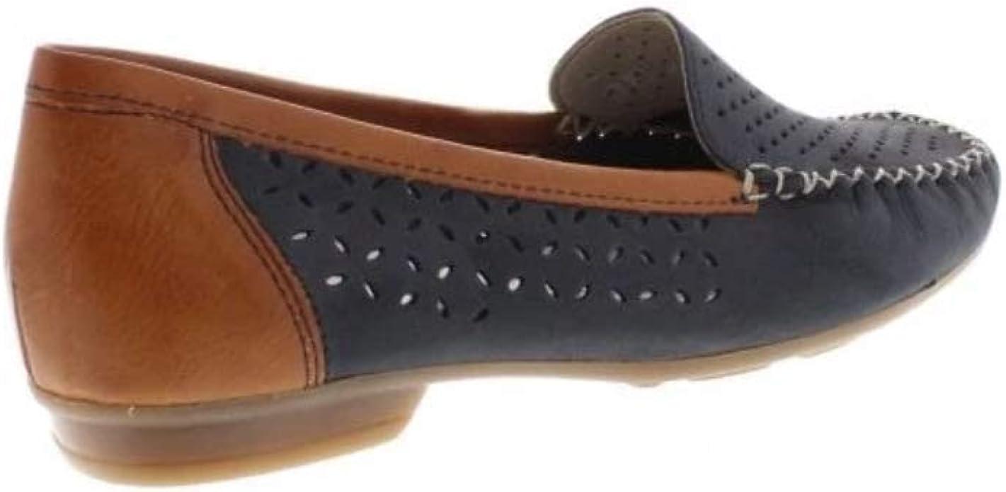 Chaussures Rieker 40086 14 Yasmin Mocassins Décontractés