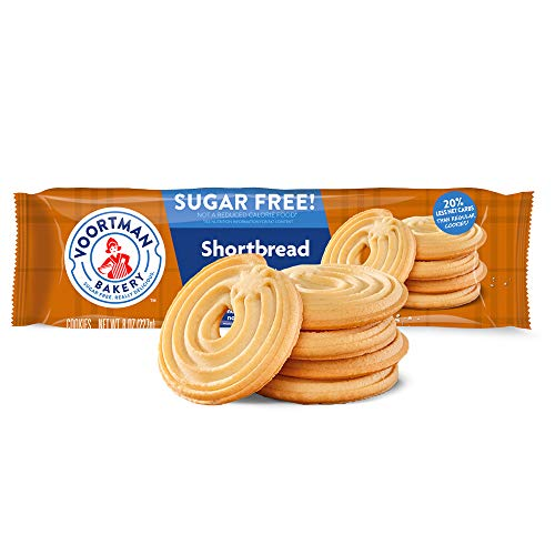 (Shortbread Cookies - Sugar Free 8 Ounce (227 g) Pkg)