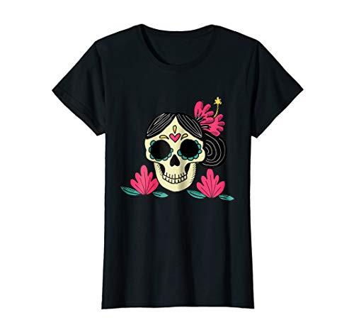 Playera de Mexico de Mujer - Dia de los Muertos Catrina ()