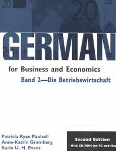 German for Business and Economics: Band 2- Die...