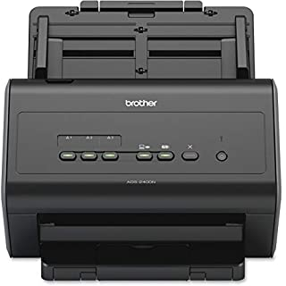 Brother ADS-2400N High-Speed Document Scanner, Wireless, PC Connected & Network, Desktop, Sheet-fed and Duplex Scanning, Includes Professional Software (B017YUCEVG) | Amazon Products