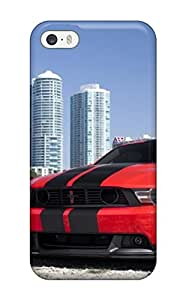 Cody Elizabeth Weaver Premium Protective Hard Case For Iphone 5/5s- Nice Design - Tunned Red Car On Beach