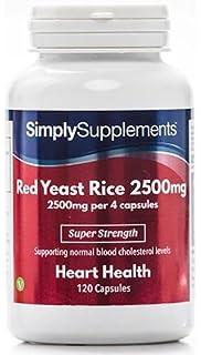 Levadura Roja de Arroz 2500mg -240 cápsulas – Ayuda a reducir los niveles de colesterol