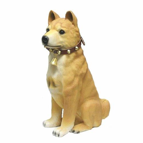 柴犬の置物(座)47cm 【グッズ】【グッツ】【アイテム】 B00CG0WDWK