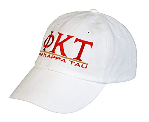 Phi Kappa Tau Fraternity - Greekgear Phi Kappa Tau World Famous Line Hat White