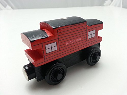 gg Friends Sodor Line Red Wooden Magnetic Toy Train Loose New In - Dead What Is Stock