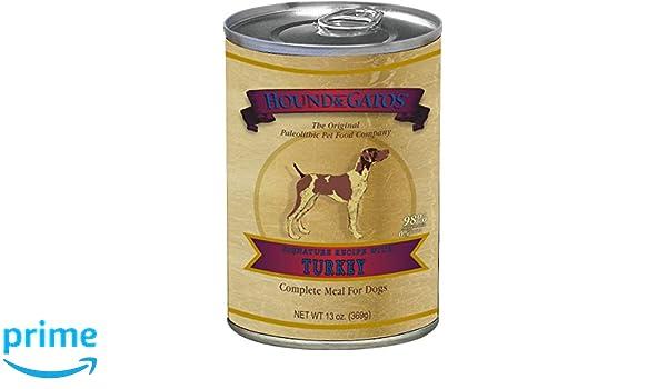 Hound & Gatos 611024 13 oz Turkey Formula Grain-Free Dog ...