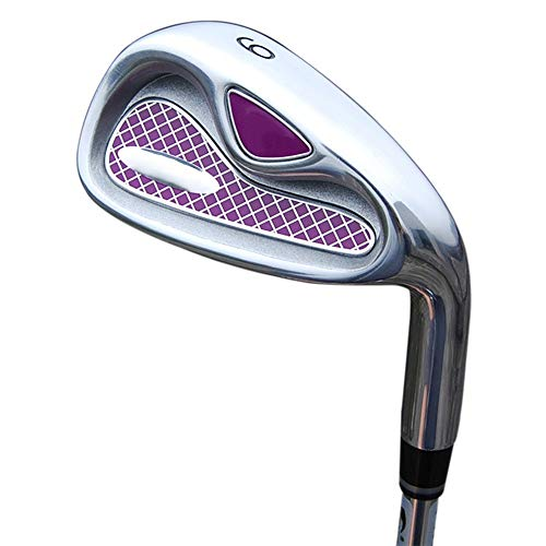 Convenient Women's Golf Clubs Beginner Irons Group 4/5/6/8/9/p/s Stable Long Golf Putter Durable (Color : Carbon Rod, Size : ()