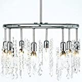 Cheap Dainolite Lighting 85302-PC-119 8 Light Crystal Chandelier