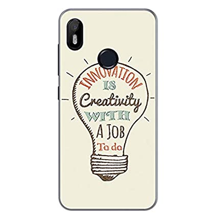 Tumundosmartphone Funda Gel TPU para BQ AQUARIS C diseño Creativity Dibujos