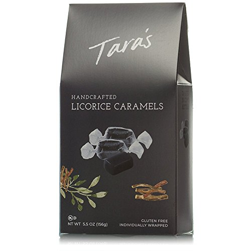 Tara's Licorice Caramels, 5.5 Ounce (Pack of 12) by Tara's