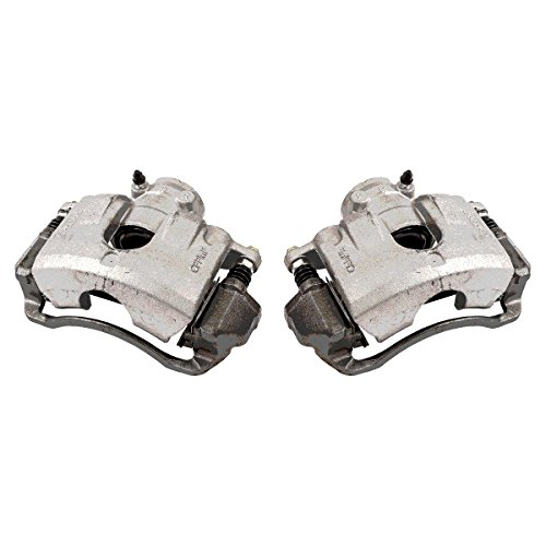 CKOE00996 [ 2 ] FRONT Premium Grade OE Semi-Loaded Caliper Assembly Pair Set