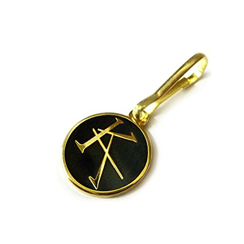 The Dark Tower KA TET Symbol Stephen King Marvel Comics Books Jacket Backpack ZIPPER PULL CLIP