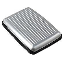 BST Cases & Purses Hard Credit Card Card Box Aluma Wallet The Card Box