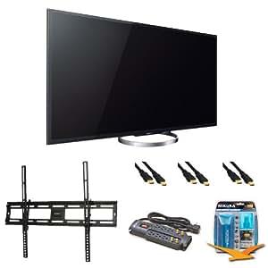 Sony XBR65X850A 65-Inch 4K Ultra HD 120Hz 3D LED HDTV Wall Mount Bundle