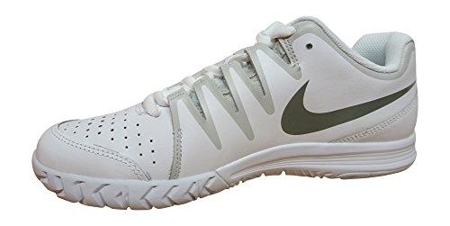 Nike Vapor Court, Zapatillas de Tenis para Hombre Blanco / Gris / Plateado (White / Tumbled Grey-Nght Silver)