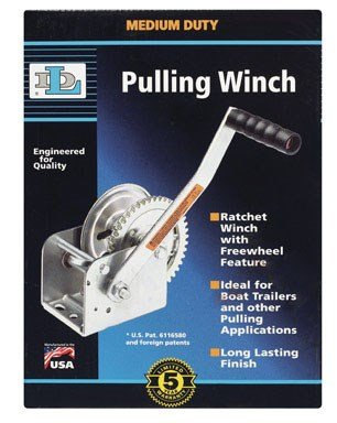 Dutton Lainson DL1402A 1400 Plated lb Pulling Winch