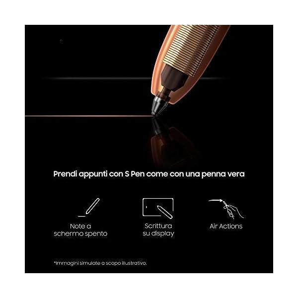 "Samsung Galaxy Note20 Smartphone, Display 6.7"" Super Amoled Plus Fhd+, 3 Fotocamere Posteriori, 256Gb, Ram 8Gb, Batteria 4300 Mah, Dual Sim + Esim, Android 10, Mystic Gray [Versione Italiana] 6"