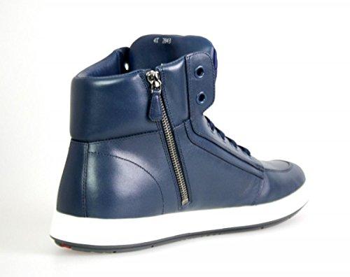 Prada Mens 4T2843 Leather Sneaker UKBYER