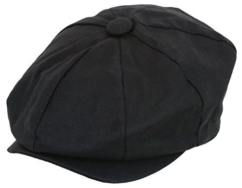 Men's Newsboy Linen Applejack Gatsby Collection Ivy Hats - - Collection Gatsby