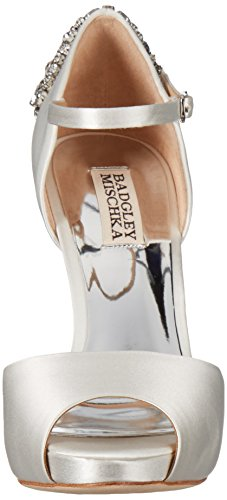 Dress Badgley Dawn Women's Sandal White Mischka nFFwCtqY