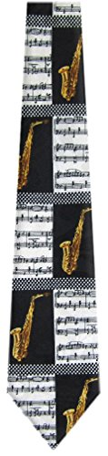 Gold2 Black Mens White Christian Novelty Necktie wHW84Axq