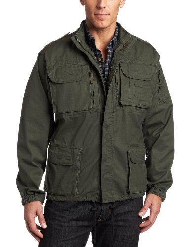 Woolrich Elite Men's Algerian Tactical Jacket (OD Green, Medium)