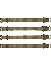 Garud Tier System - Molle Straps with Clips, Buckles - Compression Straps for Tactical Gear