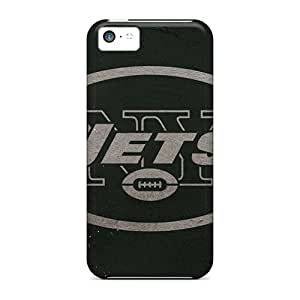 Tpu Case For Apple Iphone 5c With New York Jets