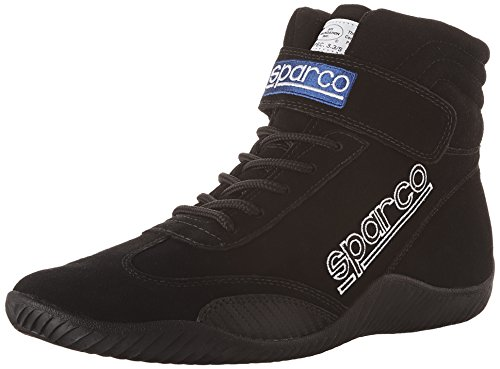 Sparco 00127105N Race Black Size 10.5 Driving Shoe by Sparco