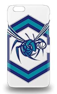 Fashion Protective NBA Charlotte Hornets Logo 3D PC Case Cover For Iphone 6 ( Custom Picture iPhone 6, iPhone 6 PLUS, iPhone 5, iPhone 5S, iPhone 5C, iPhone 4, iPhone 4S,Galaxy S6,Galaxy S5,Galaxy S4,Galaxy S3,Note 3,iPad Mini-Mini 2,iPad Air )