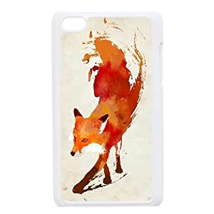Sly Fox Custom Case for Ipod Touch 4, Personalized Sly Fox Case
