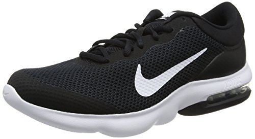 NIKE Men's Air Max Advantage Running Shoe Black/White Size 11 M US by NIKE