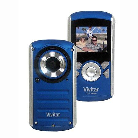 Vivitar DVR690HD-BLU-FHUT 2'' Underwater Digital Video Recorder (Blue) by Vivitar