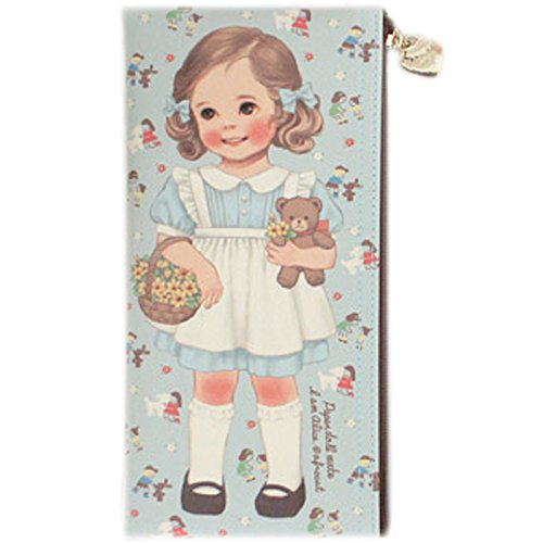Afrocat Paper Doll Mate NEW Pen Case Alice Pencils Beauty Br