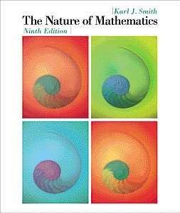 Download The Nature of Mathematics (Available Titles CengageNOW) ebook