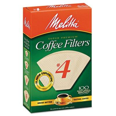 Cesta estilo Filtros de café, papel, de 8a 12tazas, 1200/caja de cartón