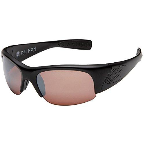 Kaenon Hard Kore Polarized Sunglasses,Matte Black Frame/C12 Lens,Regular - Kaenon Sunglass