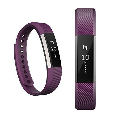 Fitbit FB406PMS Alta Fitness Tracker - Plum - Small