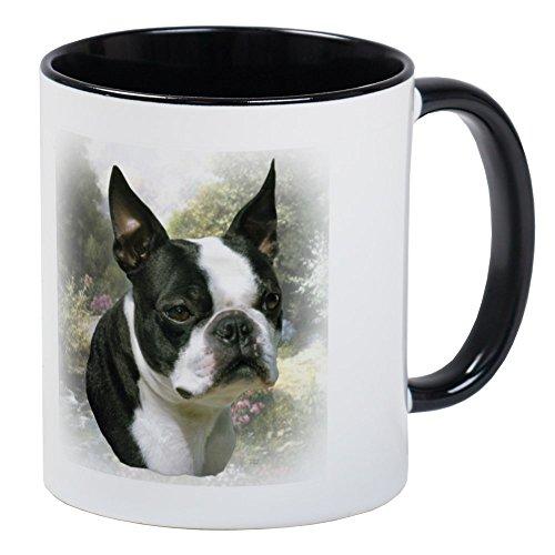 CafePress - Boston Terrier Mug - Unique Coffee Mug, Coffee Cup ()
