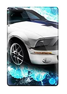 Ipad Mini/mini 2 Case Slim [ultra Fit] Ford Mustang Gt Sports Car Freecomputerdesktop600 Protective Case Cover