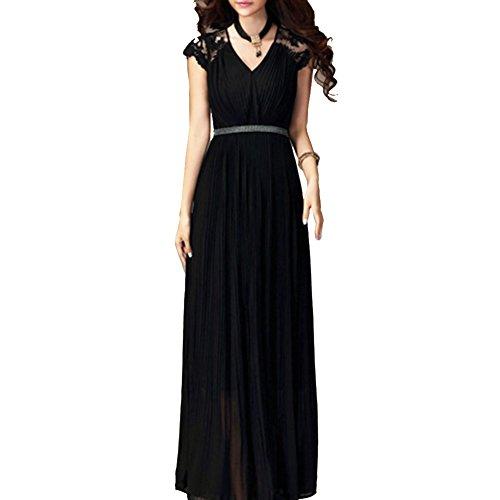 Pinkyee CLAK0233113 - Vestido Negro