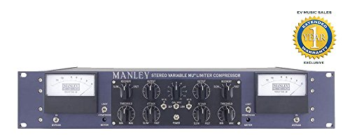 Manley Stereo Variable MU Limiter Compressor Mastering Version with 1 Year Free Extended Warranty by Manley