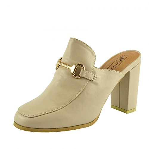 Slingback Slipper Clog Mule Scarpe Sandal Open Spillo Back Donna A Kick Nude Tacco Calzature gXZYqq