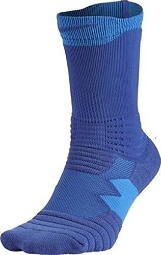 Nike Youths Elite Versatility Basketball Crew Socks Azul Small 3Y-5Y