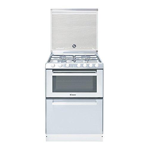 Candy TRIO 9501/1W Independiente Gas hob A Color blanco - Cocina (Independiente, Color blanco, Giratorio, Frente, CE, Gas hob) 33001344