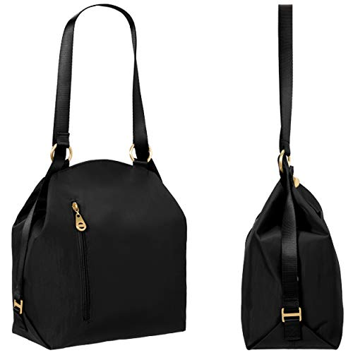 e8161de44d0d Jual Baggallini Women s Gold International Mendoza Backpack Black ...